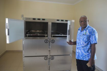 $6.5 million morgue in the works for central hospital