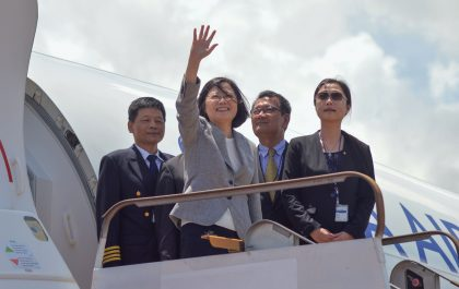 President Tsai leaves the Solomons amidst political turmoil