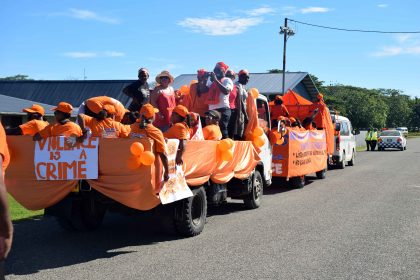 Campaign against gender-based violence kicks off in Honiara