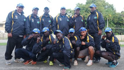 Solomons' boxers ready for bouts at Pacific Mini Games