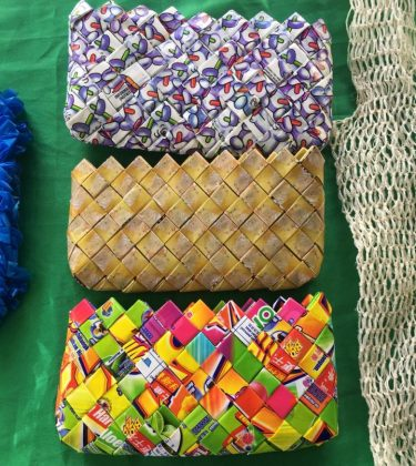 Turning plastics into purses to tackle waste in Gizo