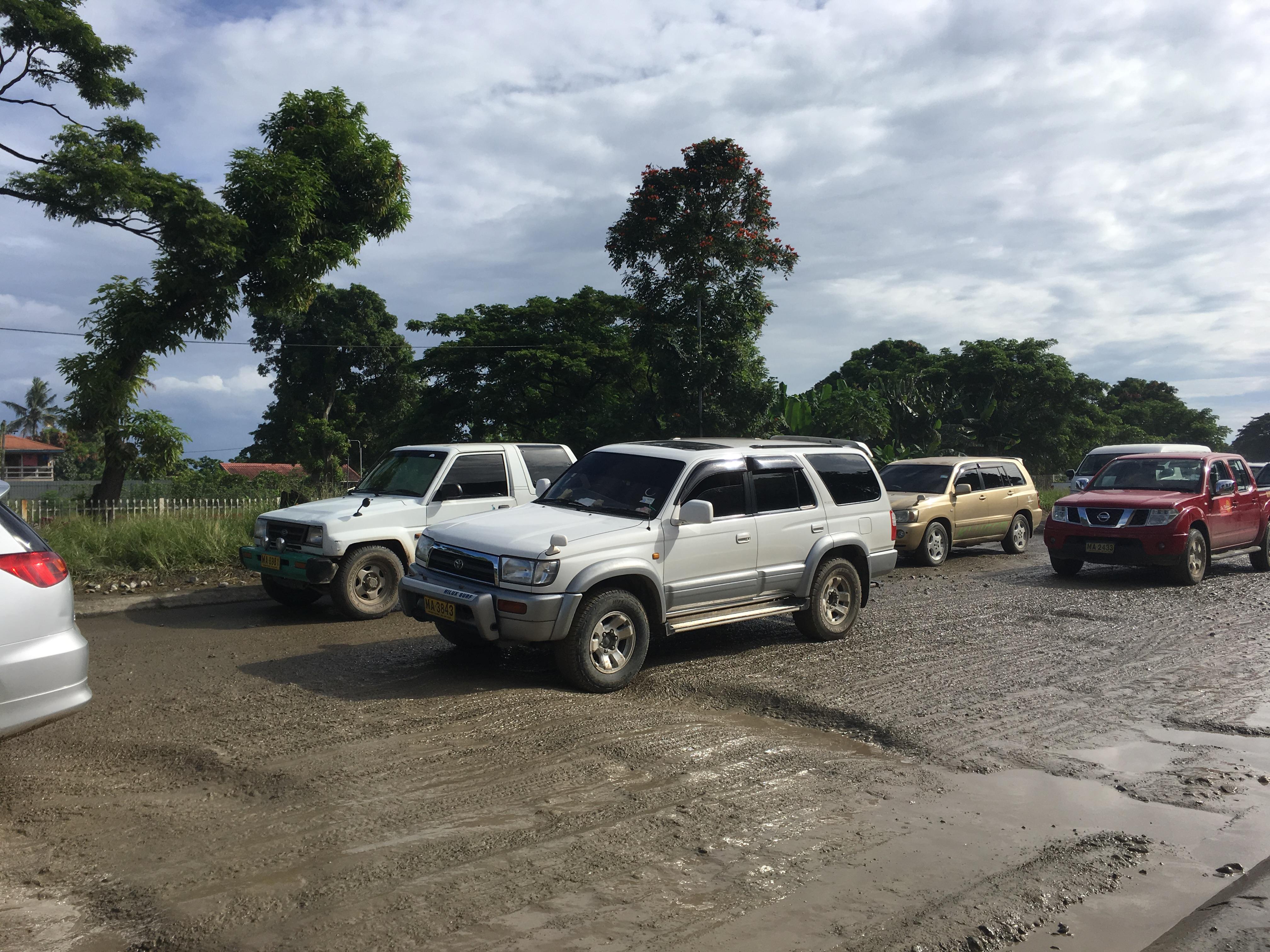 Police warn against pothole profiteering