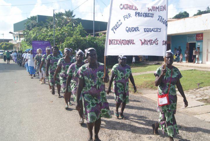 Solomon Islanders 'press for progress' on International Women's Day