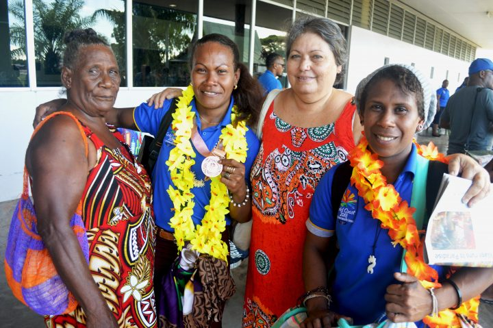 Commonwealth Games medalist Jenly Wini gets warm welcome home