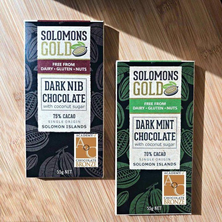 Solomons Gold wins International Chocolate award