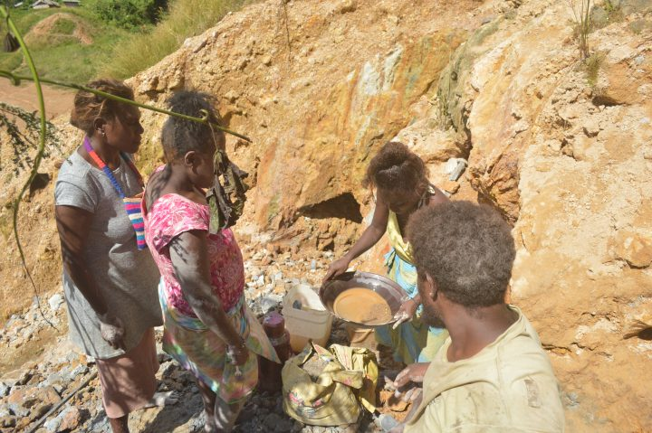 A day in the life of local Gold miners.