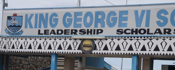 King George Sixth School: Education stymied by weak administration.