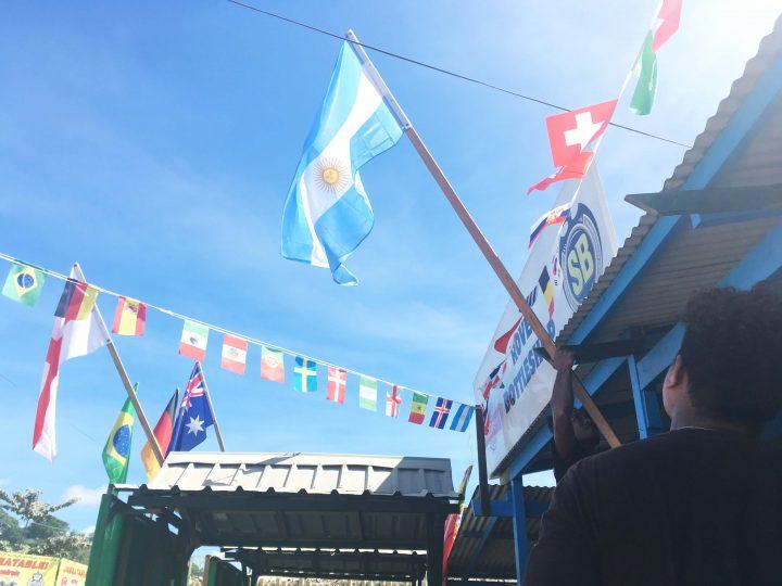 World Cup fever hits Honiara