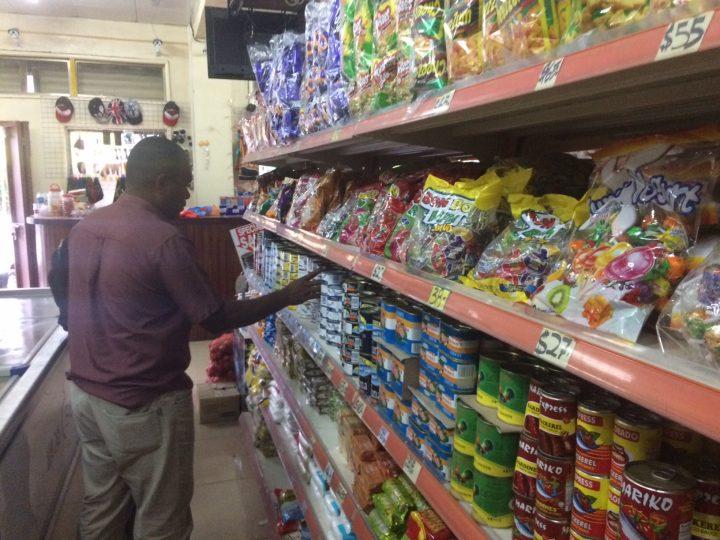 80%  of Honiara shops fined.