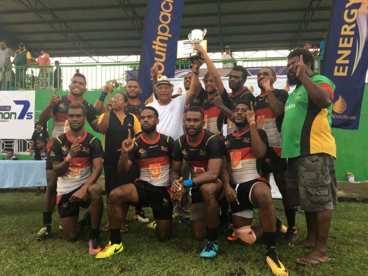 Vanuatu Barbarians wins Solomon 7s