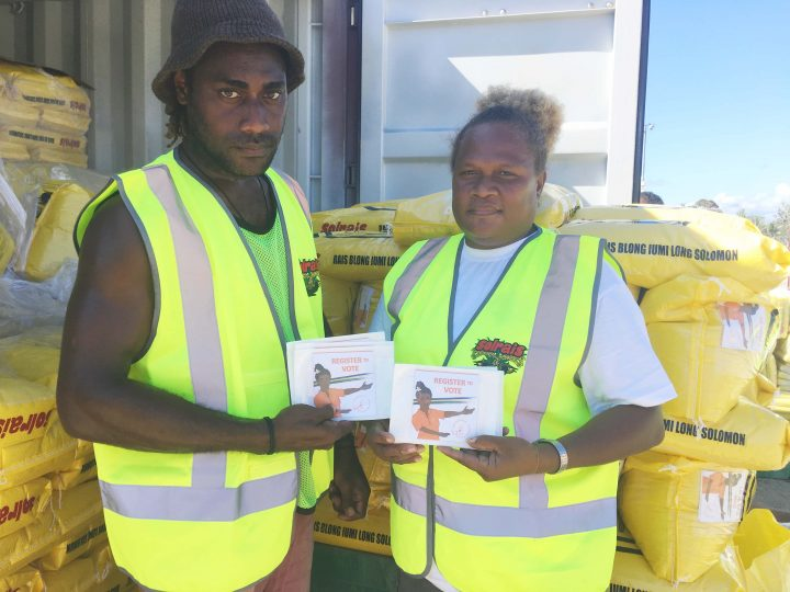 Solrais distributes 110,000 voter awareness leaflets
