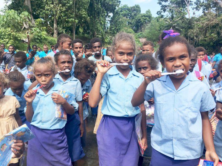 Numbu marks 'National Tooth Brushing day'