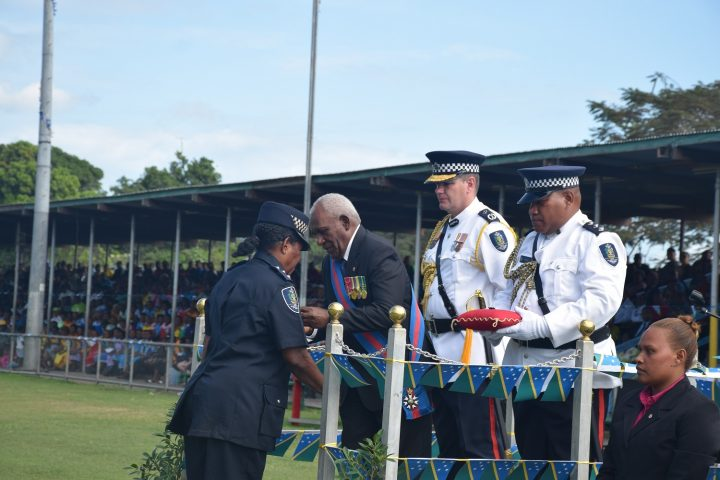 Police officer receives award