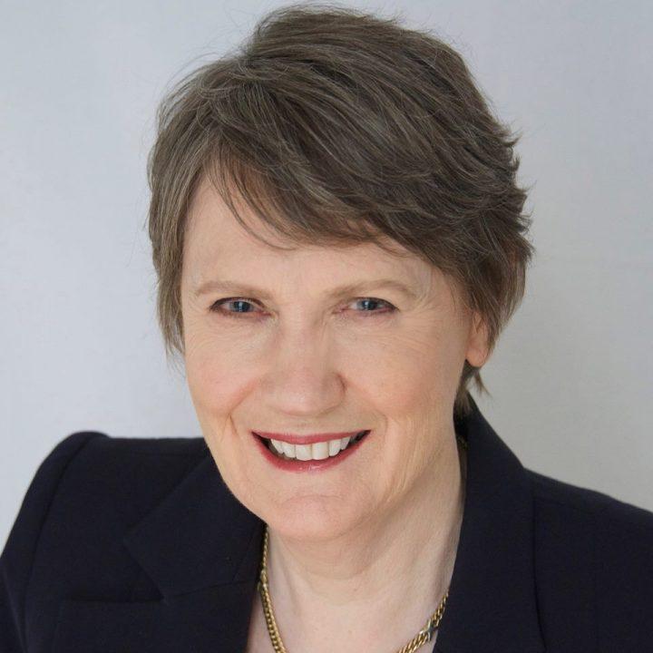 Former New Zealand Prime Minister Helen Clark arrives