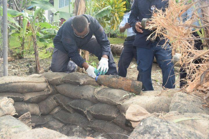 Police remove bomb in Honiara's CBD