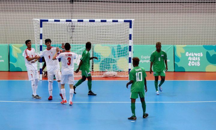 Solomons down in Futsal opener