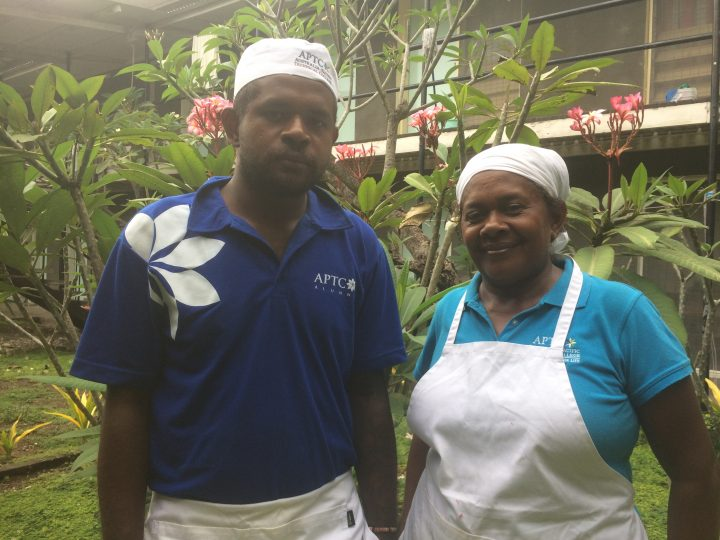 Mother and son take on catering business