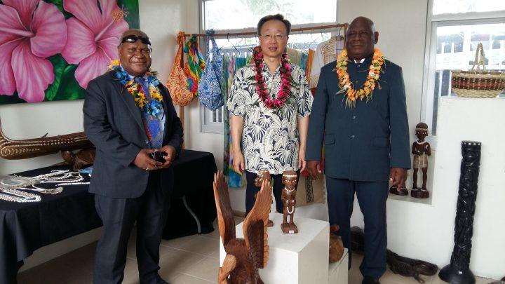 Honiara craft center opens today