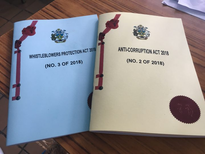 Anti- Corruption act officially launched