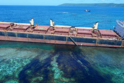 Govt wants wrecked vessel removed
