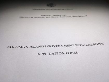 Scholarship scandal