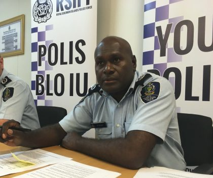 Police warn againts threats