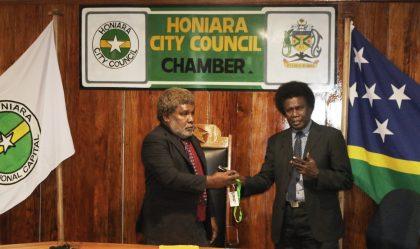 Mamae elected as new Honiara Mayor