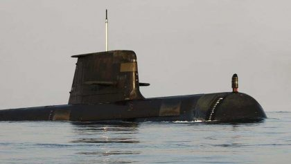 Australian sub appears in Honiara, shocks residents
