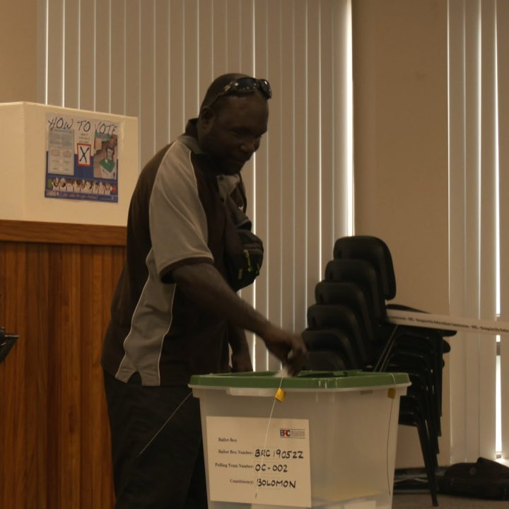 Bougainville referendum vote in Honiara today