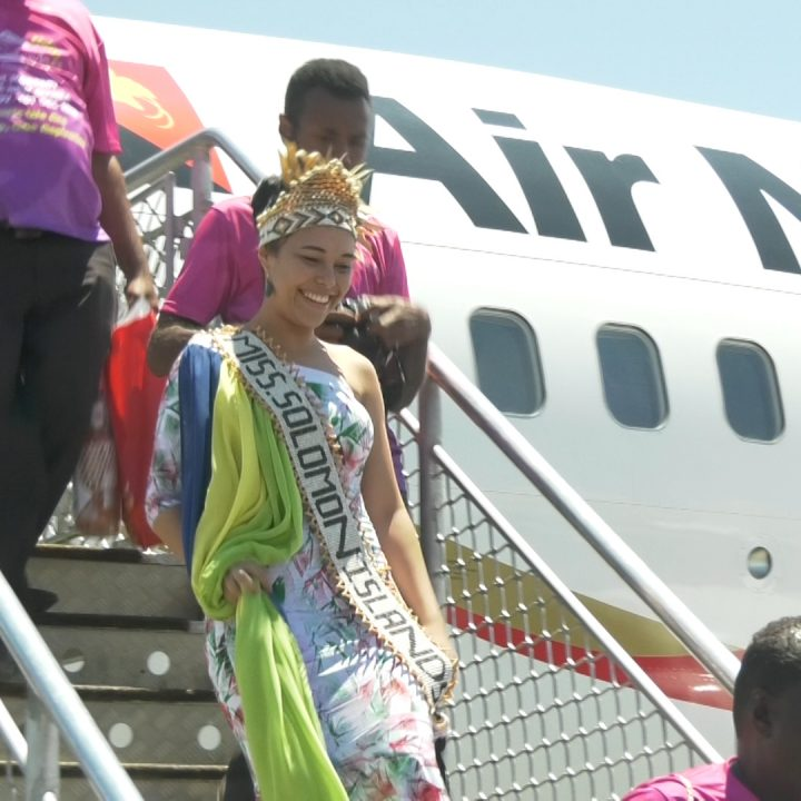 Miss Solomon Islands commends local support