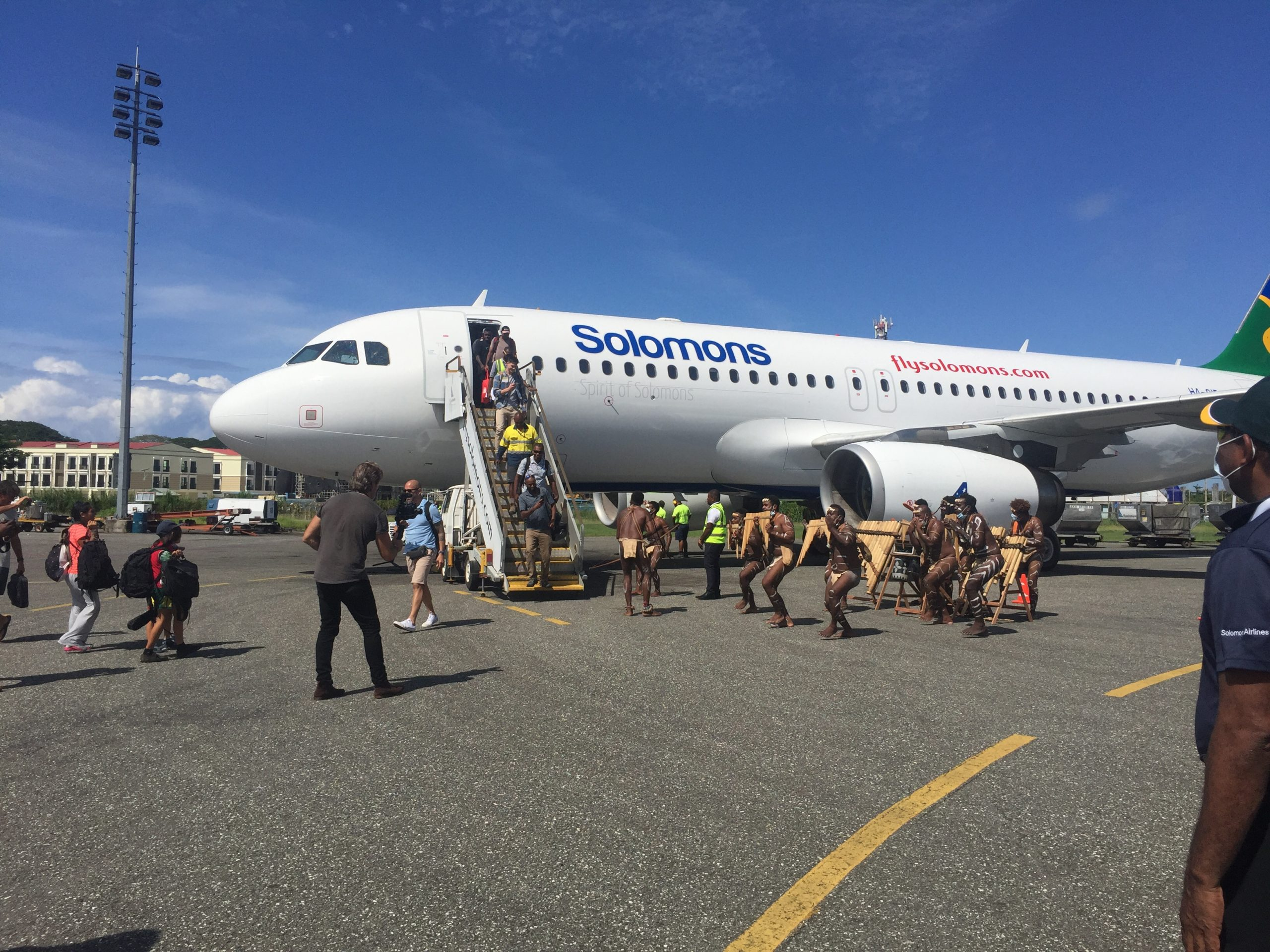 'Spirit of Solomon' airbus inaugurated
