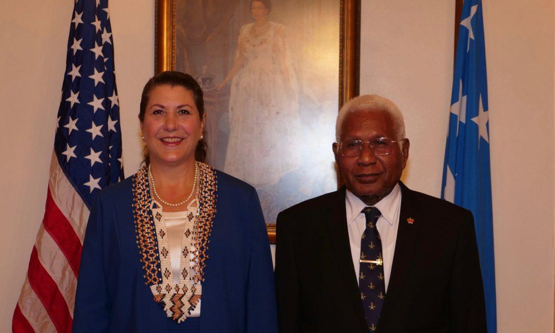 USA lauds COVID-19 free Solomon Islands