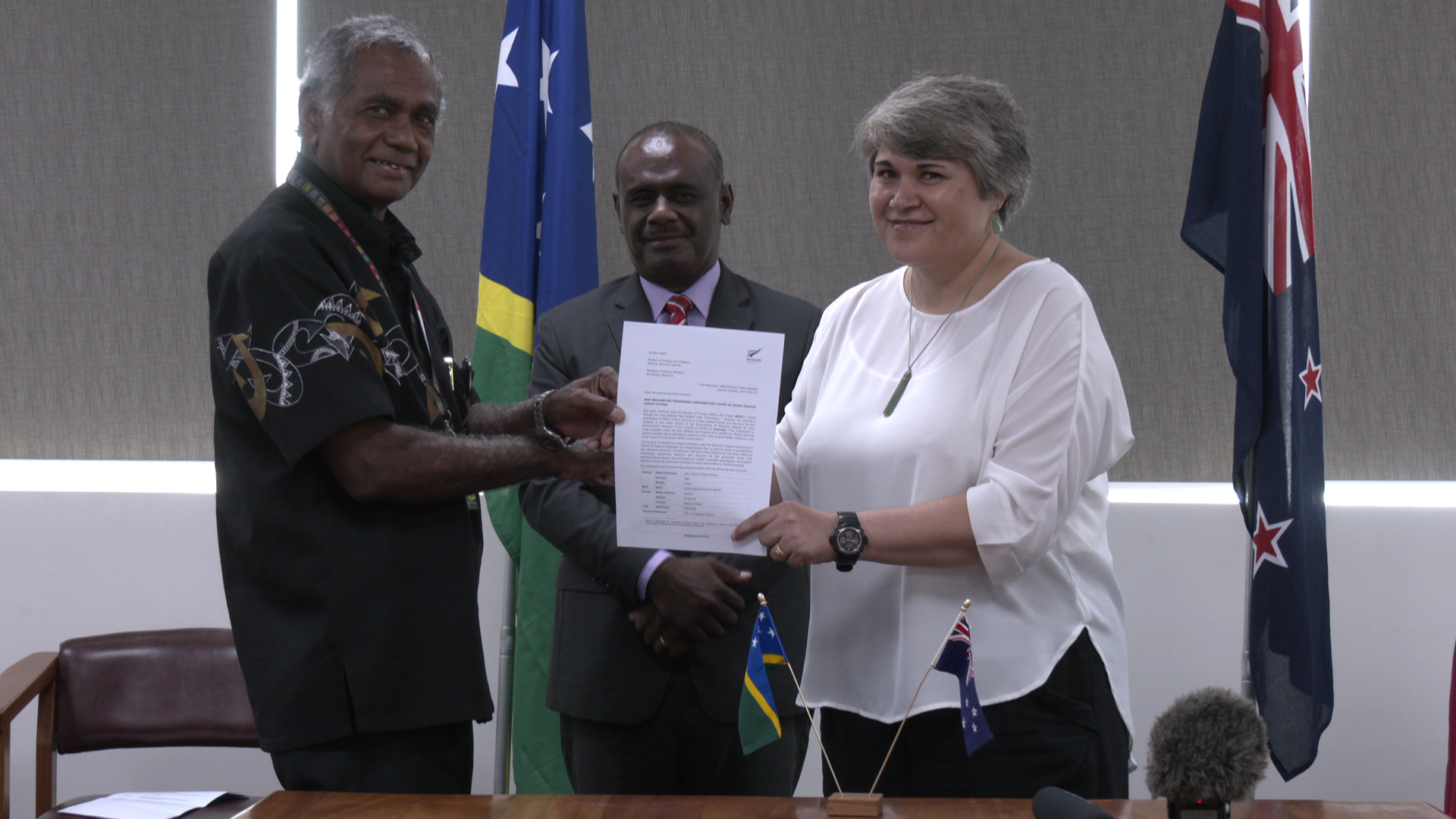 NZ and WHO lauds the COVID-19-free Solomon Islands