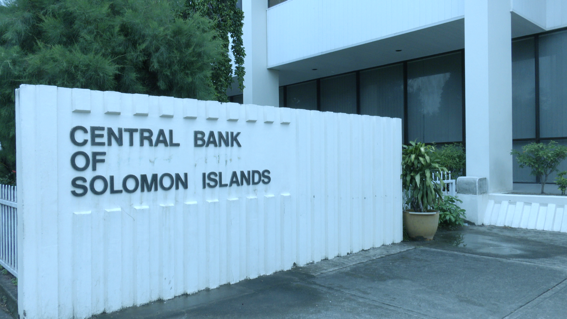 Solomon Islands economy projected to only fall by minus 3.9% not as an earlier projection